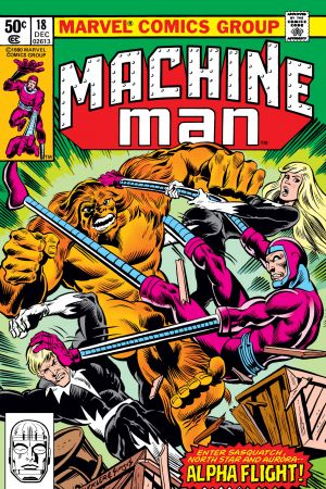 Machine Man #18