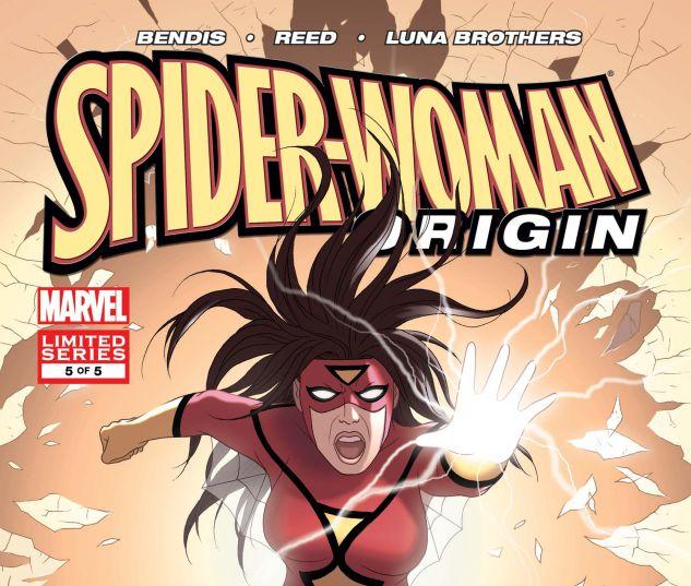 SPIDER-WOMAN: ORIGIN (2005) #5