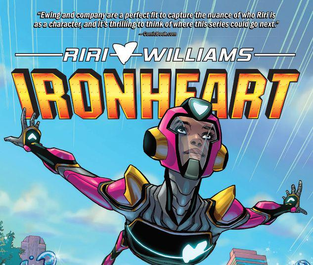 IRONHEART VOL. 1: THOSE WITH COURAGE TPB #1