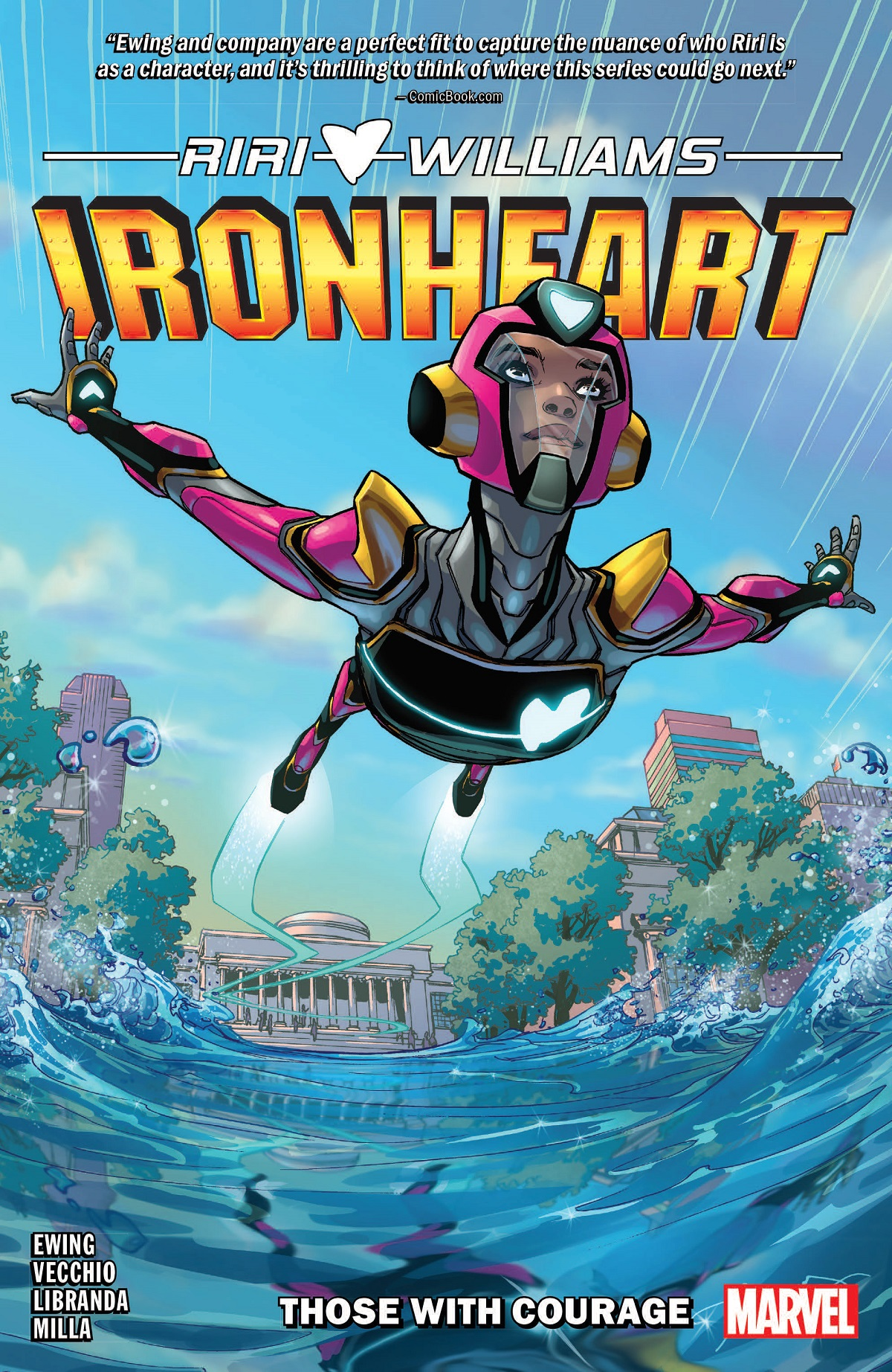 Ironheart Vol. 1: Those With Courage (Trade Paperback)