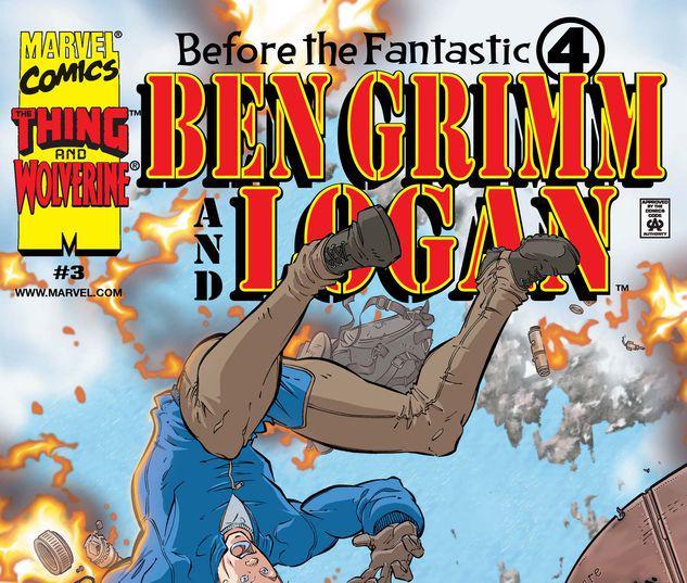 Before the Fantastic Four: Ben Grimm & Logan #3
