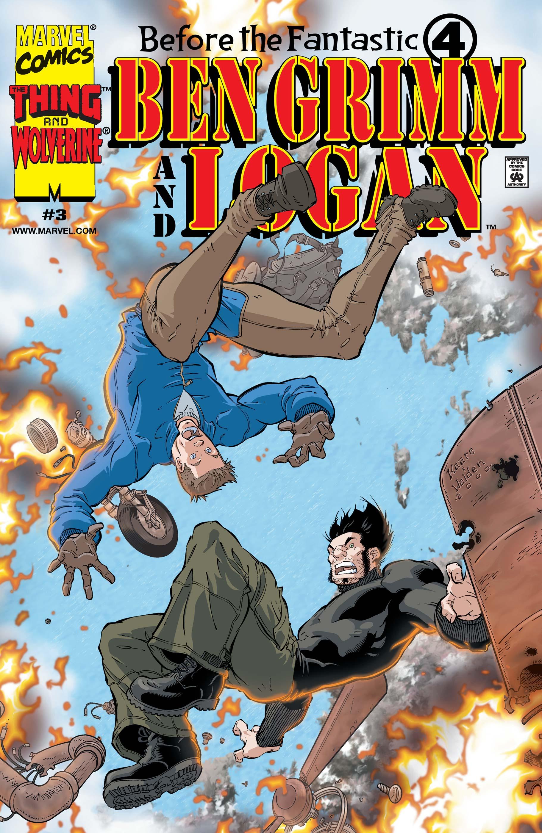 Before the Fantastic Four: Ben Grimm & Logan (2000) #3