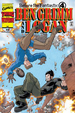 Before the Fantastic Four: Ben Grimm & Logan #3