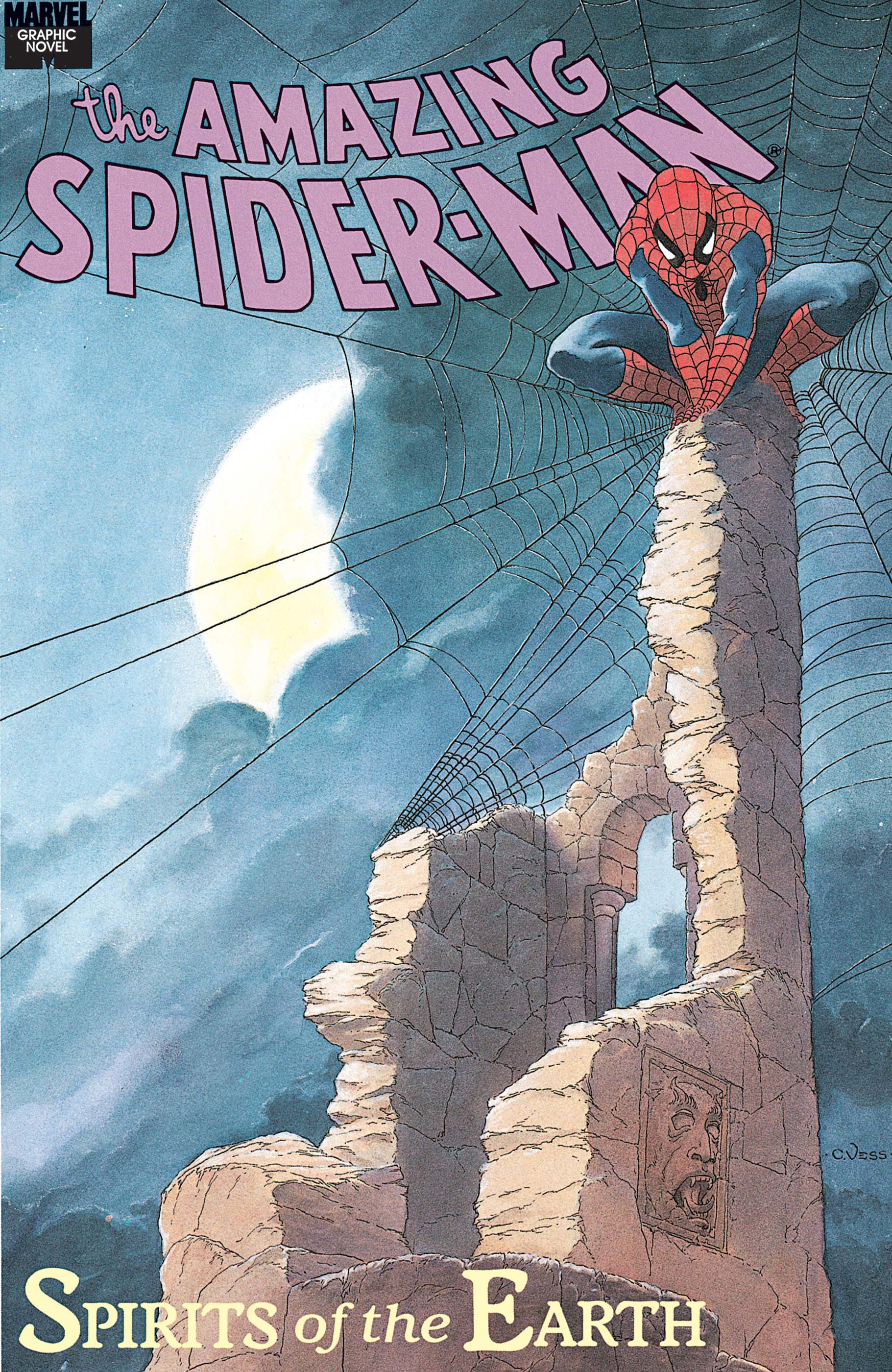 Spider-Man: Spirits Of The Earth Graphic Novel (1990) #1