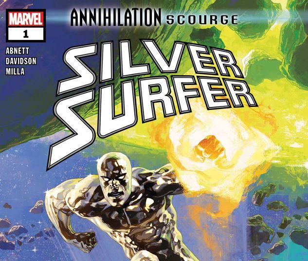 ANNIHILATION - SCOURGE: SILVER SURFER 1 #1