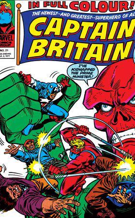 Captain Britain (1976) #21