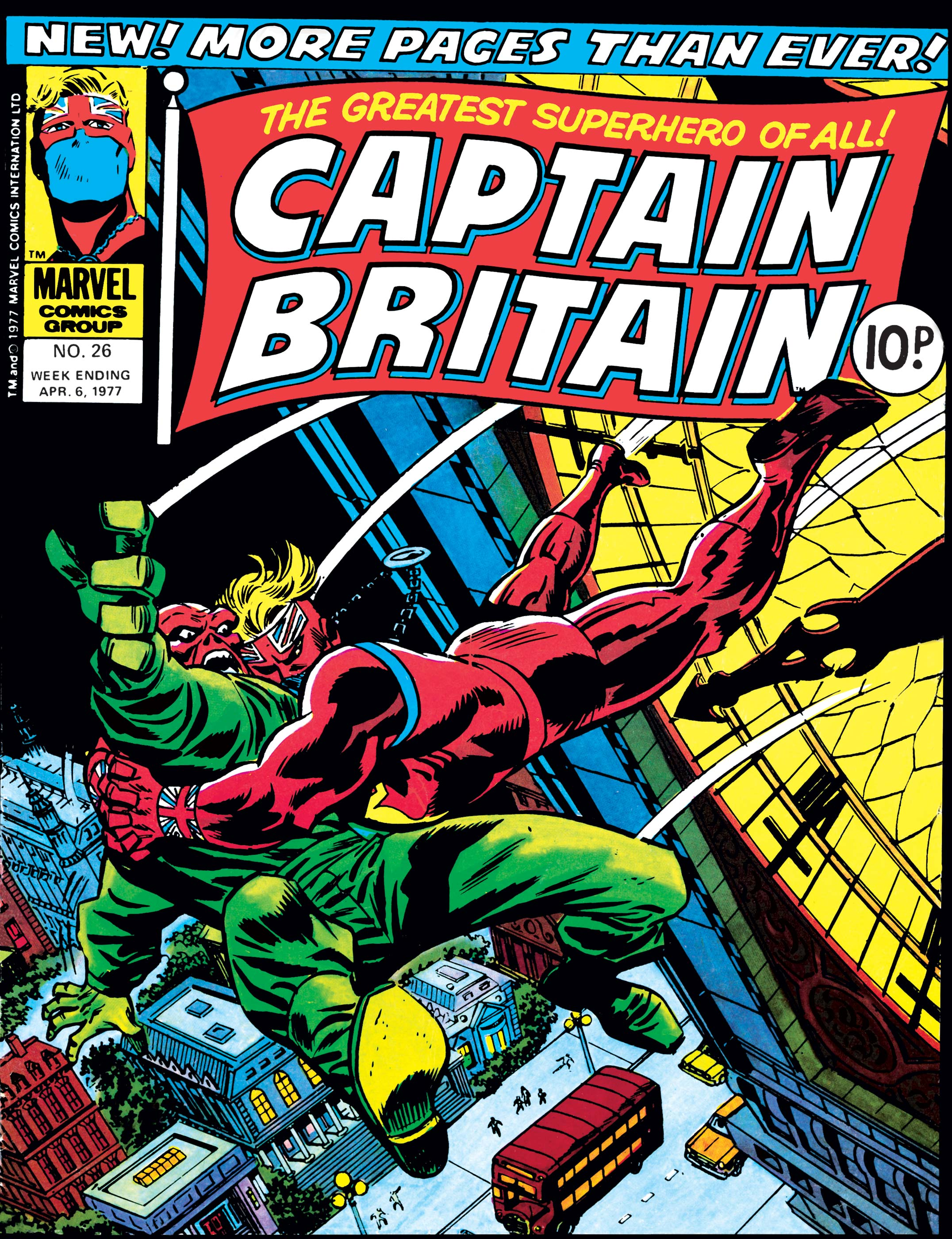 Captain Britain (1976) #26