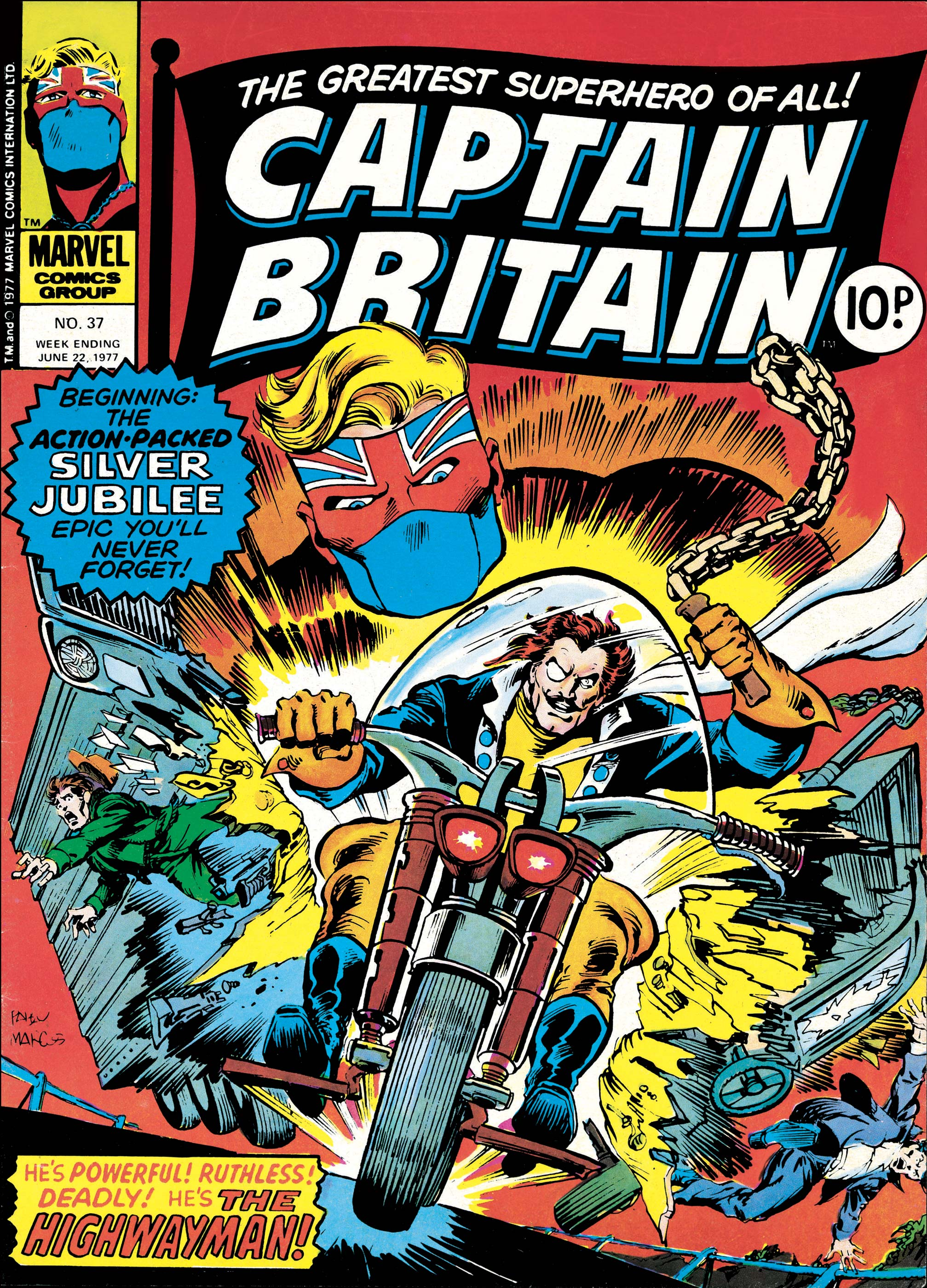 Captain Britain (1976) #37