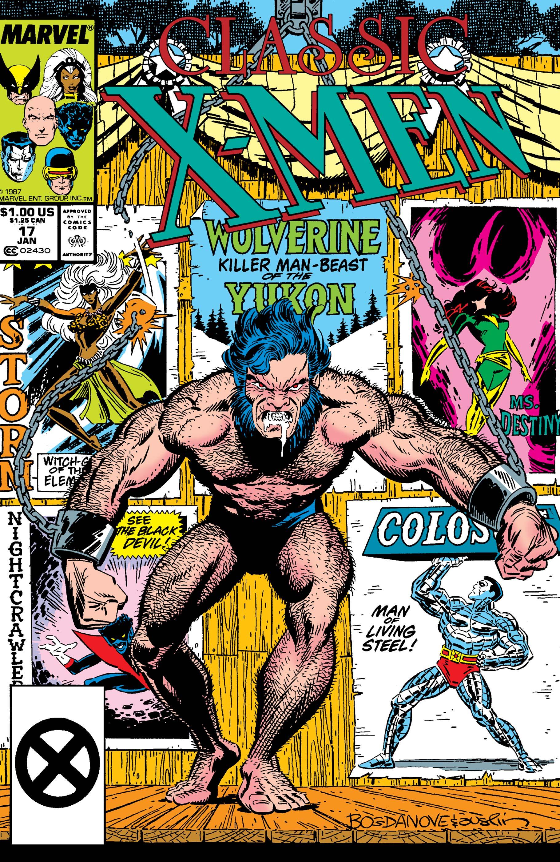 Classic X-Men (1986) #17