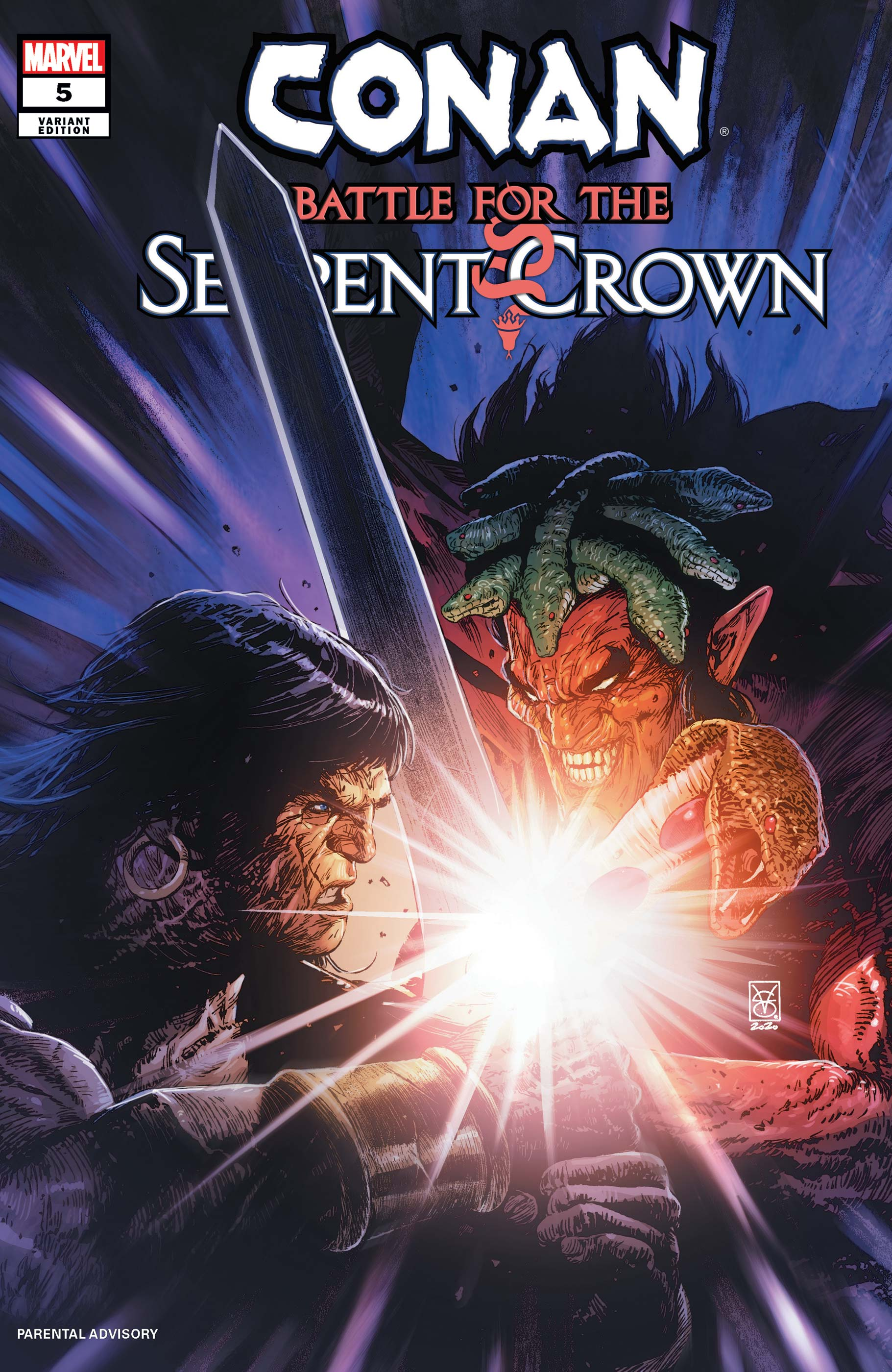 Conan: Battle for the Serpent Crown (2020) #5 (Variant)