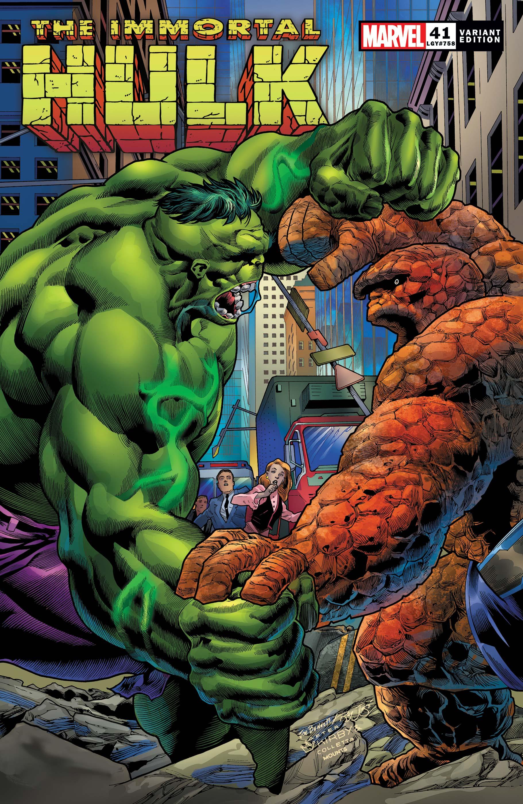 Immortal Hulk (2018) #41 (Variant)