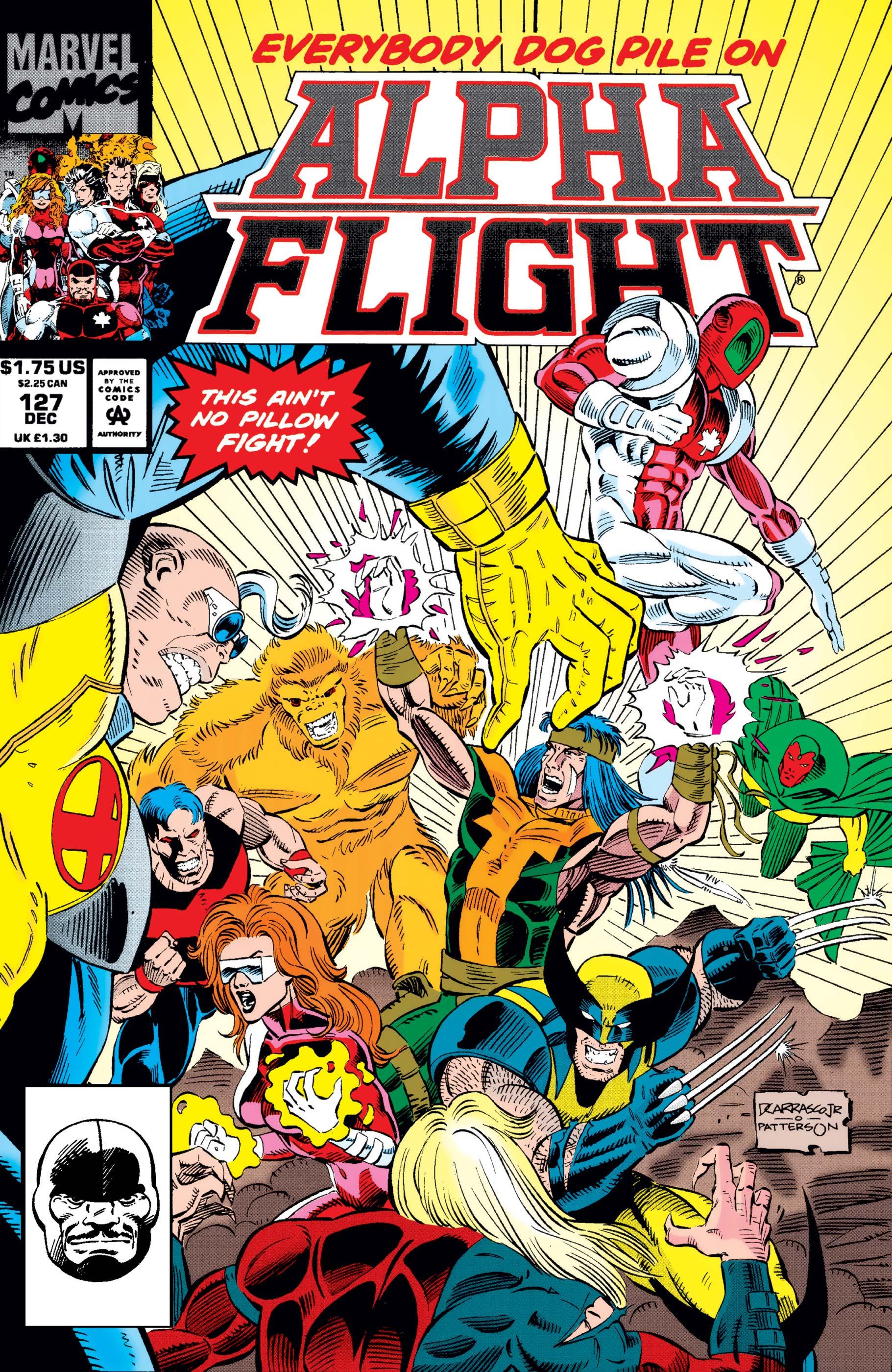 Alpha Flight (1983) #127
