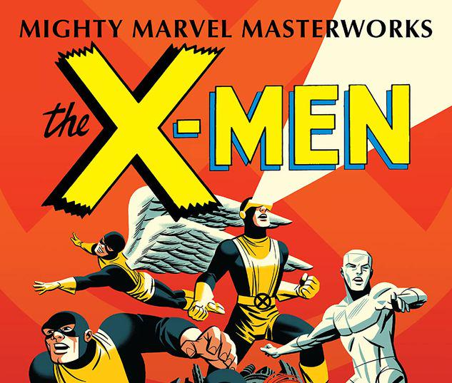 MIGHTY MARVEL MASTERWORKS: THE X-MEN VOL. 1  - THE STRANGEST SUPER HEROES OF ALL GN-TPB MICHAEL CHO COVER #1