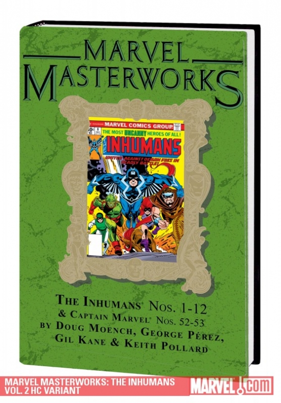 Marvel Masterworks: The Inhumans Vol. 2 Variant (Hardcover)