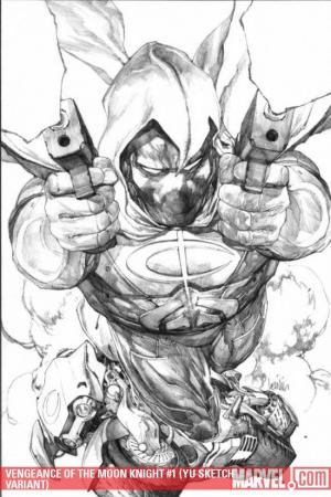 Vengeance of the Moon Knight (2009) #1 (YU SKETCH VARIANT)