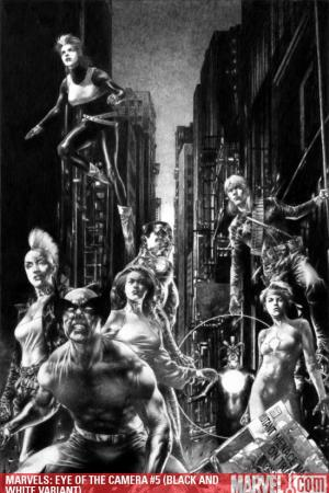 Marvels: Eye of the Camera (2008) #5 (BLACK AND WHITE VARIANT)