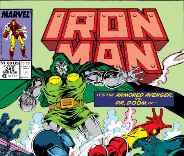 Iron Man #249