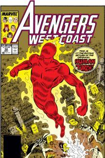 Avengers West Coast #50