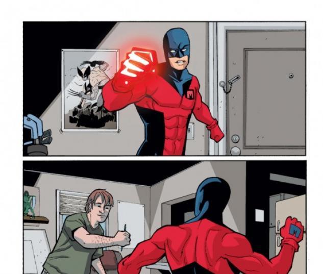 Masked Marvel (2006) #2
