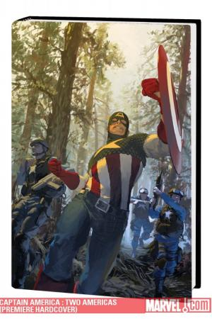 Captain America : Two Americas (Hardcover)