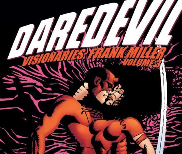 DAREDEVIL VISIONARIES: FRANK MILLER VOL. III TPB COVER