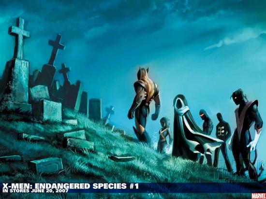 X-Men: Endangered Species (2007) #1 Wallpaper