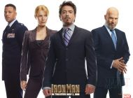 Iron Man Movie: Group Shot #1