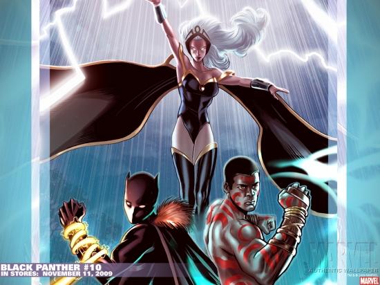 Black Panther (1977) #10 Wallpaper