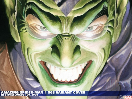 Amazing Spider-Man (1999) #568 (JRSR VARIANT) Wallpaper