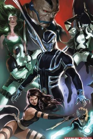 Uncanny X-Force (2010) #1 (DJURDJEVIC VARIANT)