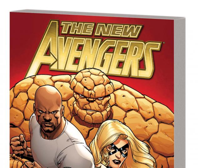 New Avengers By Brian Michael Bendis Vol.1 TPB cover