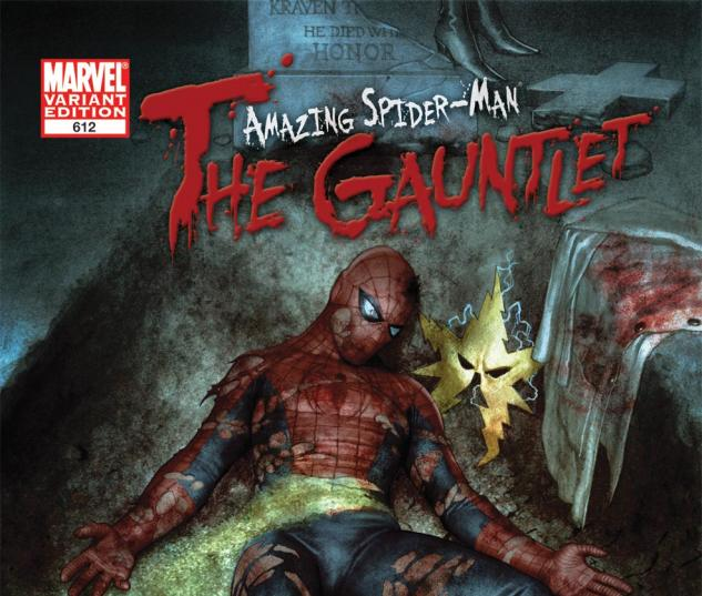 Amazing Spider-Man (1999) #612, Granov 50/50 Variant