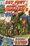 Sgt. Fury and his Howling Commandos #72 cover by John Severin