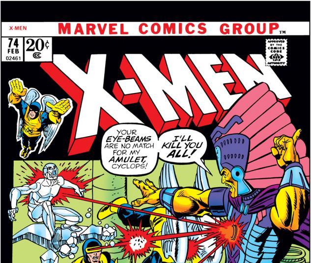 Uncanny X-Men #74