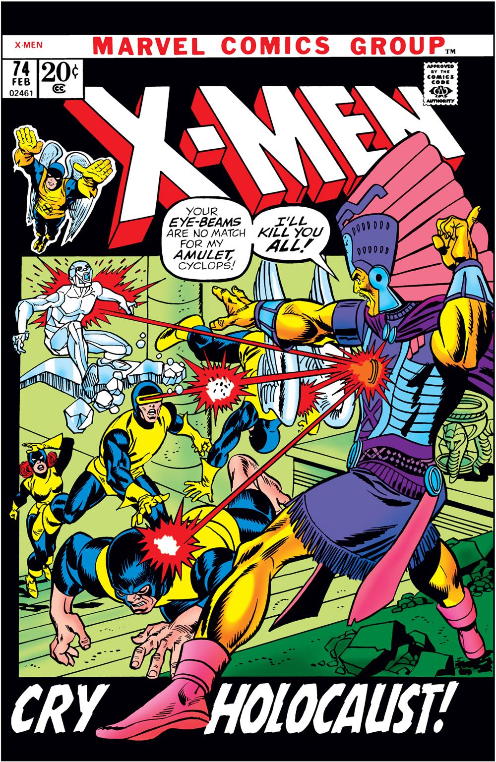 Uncanny X-Men (1963) #74