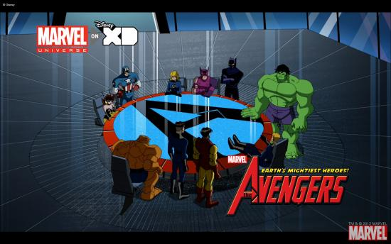 The Avengers: Earth's Mightiest Heroes! Wallpaper #1