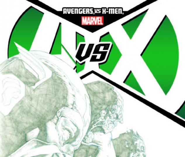 AVENGERS VS. X-MEN 8 OPENA SKETCH VARIANT (1 FOR 200, WITH DIGITAL CODE)