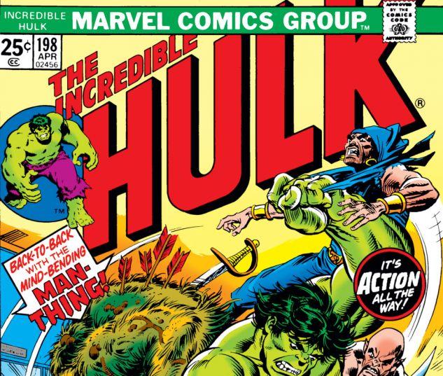 Incredible Hulk (1962) #198 Cover