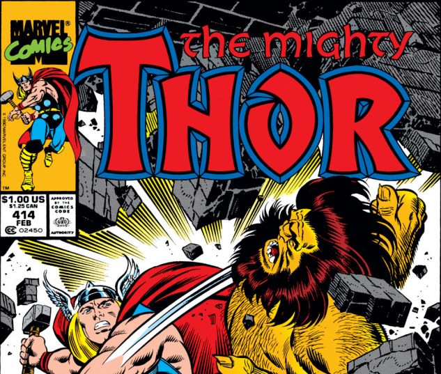 Thor (1966) #414 Cover