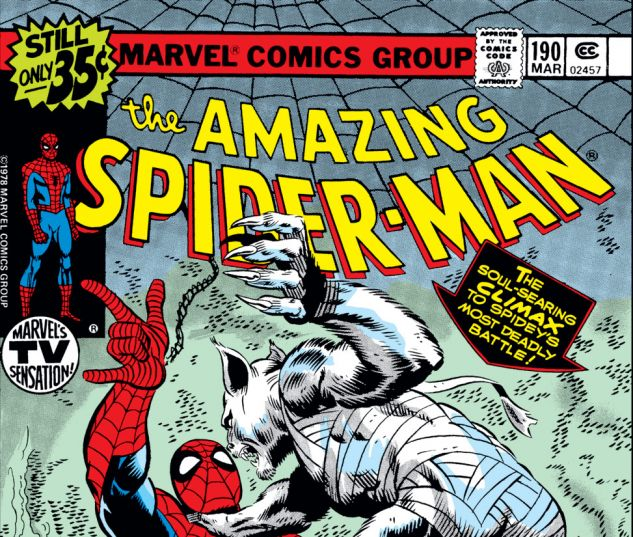 Amazing Spider-Man (1963) #190 Cover