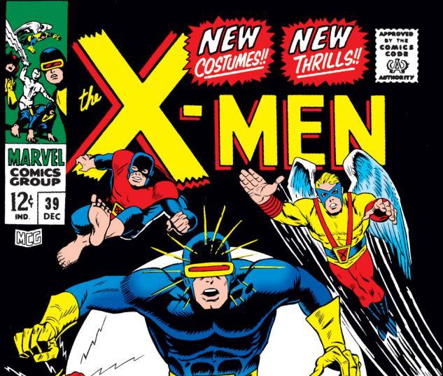 Uncanny X-Men (1963) #39 Cover