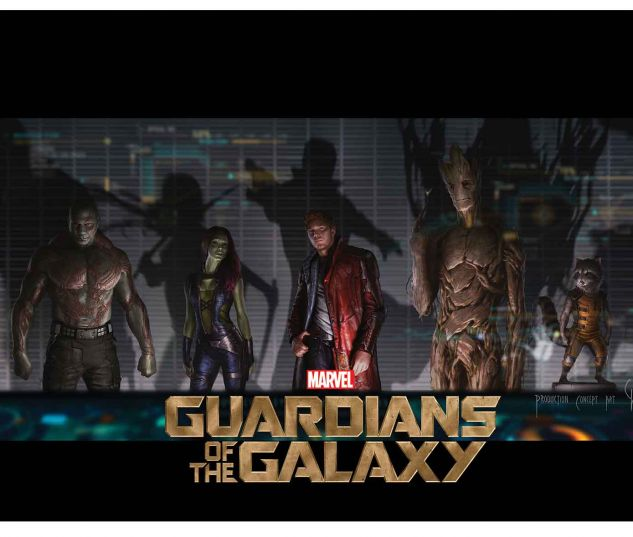 MARVEL'S GUARDIANS OF THE GALAXY: THE ART OF THE MOVIE HC SLIPCASE