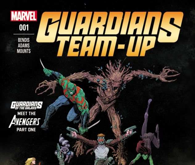 GUARDIANS TEAM-UP 1 (WITH DIGITAL CODE)