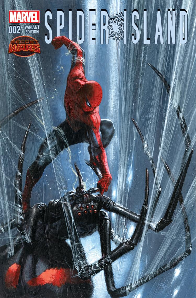 Spider-Island (2015) #2 (Dell'otto Variant)
