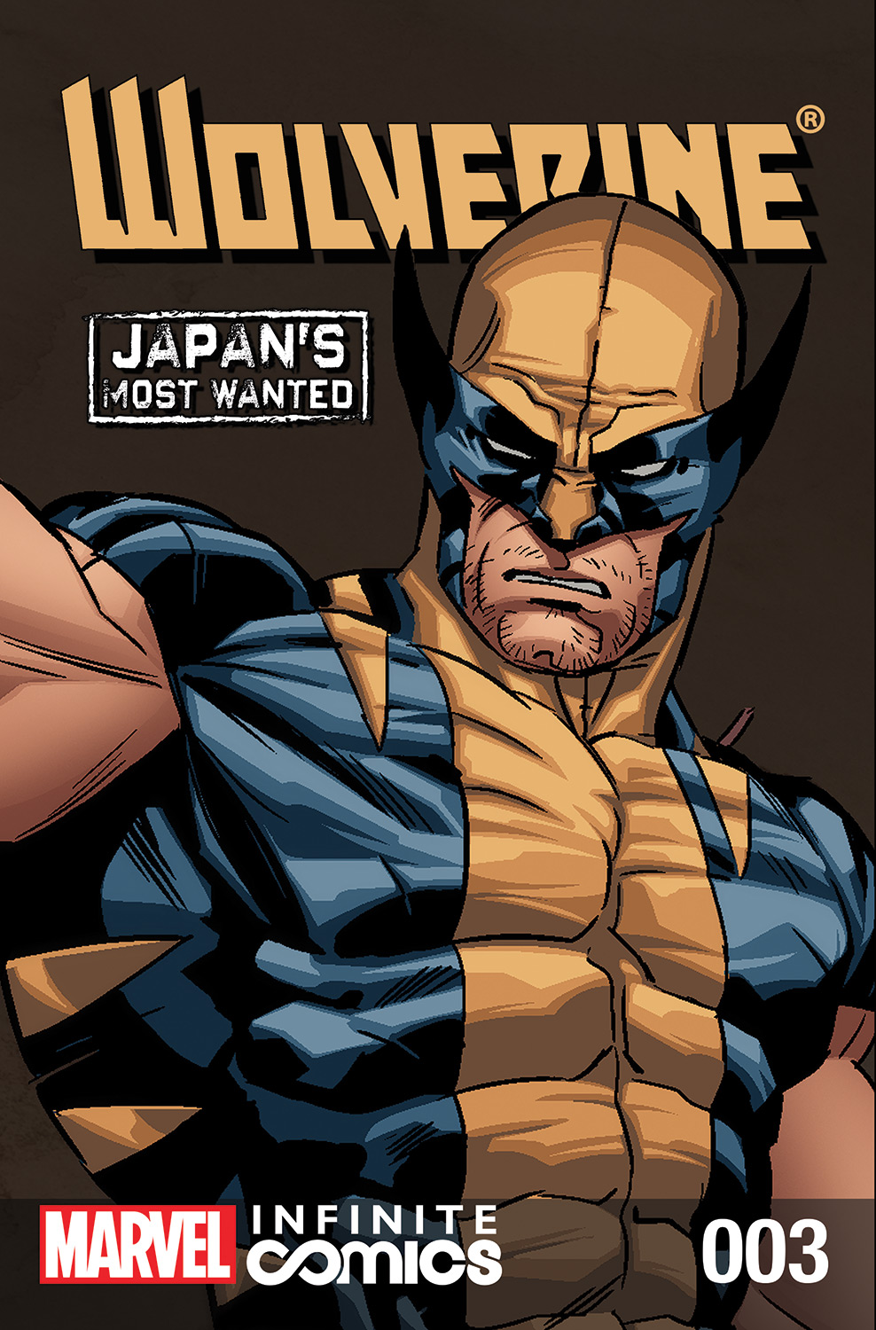 Wolverine: Japan's Most Wanted Infinite Comic (2013) #3
