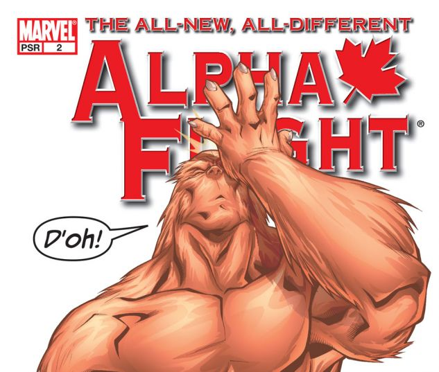 ALPHA FLIGHT (2004) #2 Cover