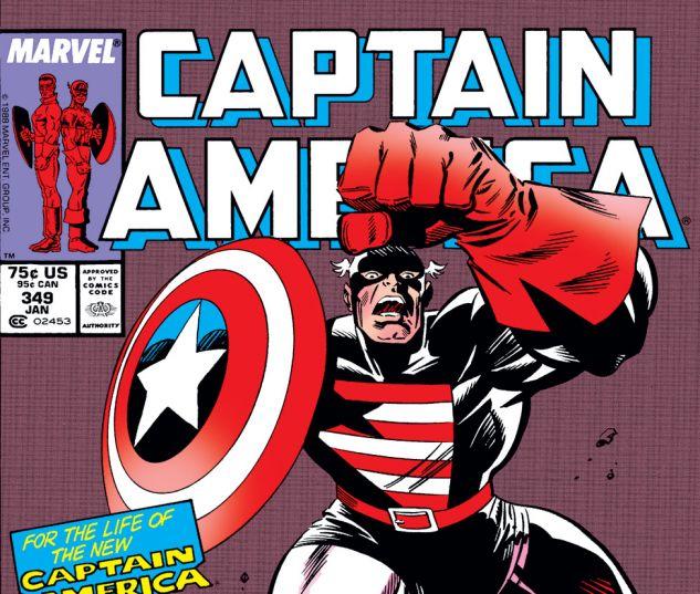 Captain America (1968) #349