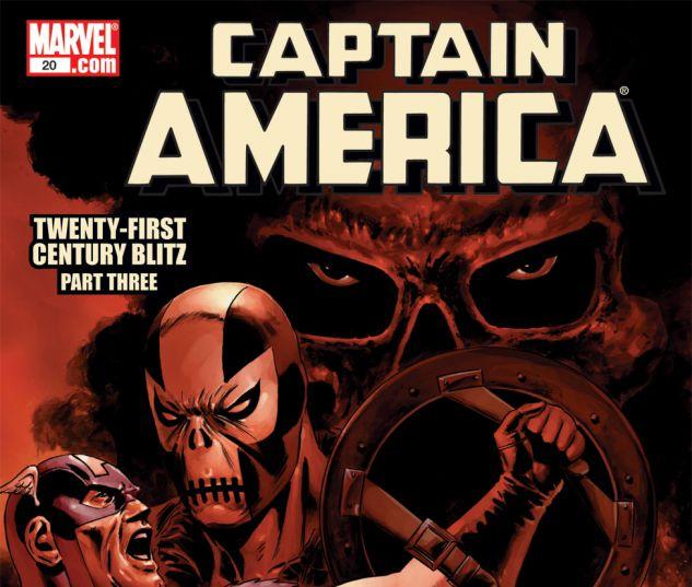 CAPTAIN AMERICA (2004) #20 Cover