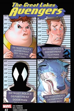 Great Lakes Avengers #2