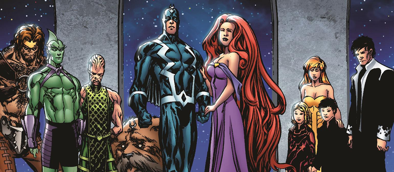 Inhuman Royal Family | Inhumans | Marvel Comic Reading Lists